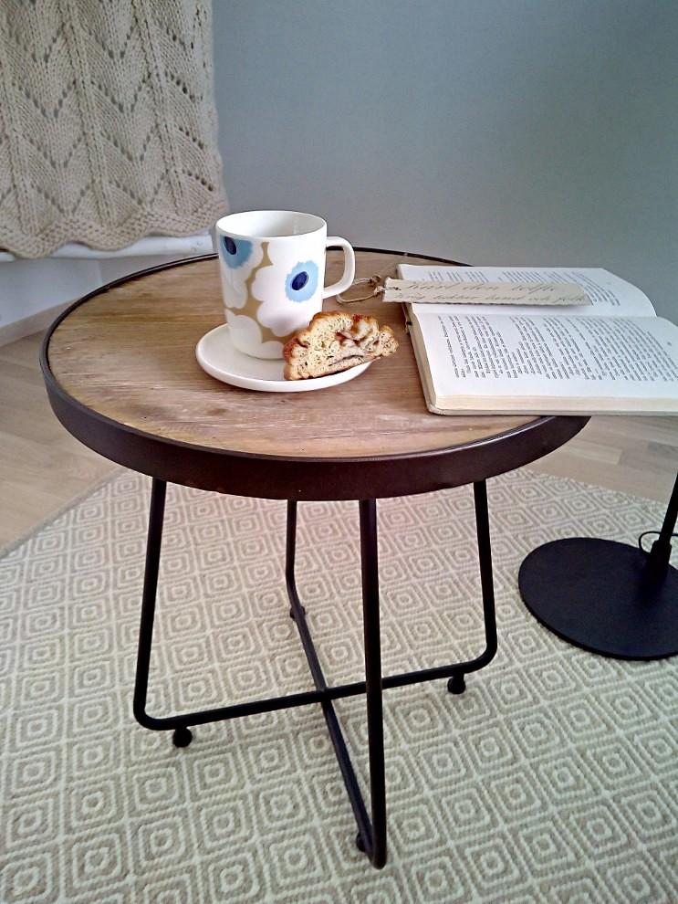 Barbuda sivupöytä Ø46 x h49 cm, Roomlight