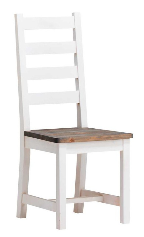 Rustiikki tuoli valkoinen/kelo