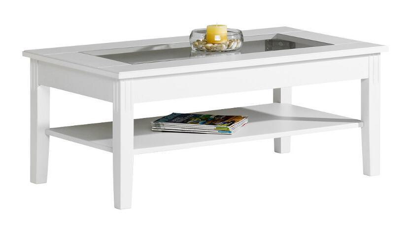 Ida sohvapöytä 110x65 lasikansi valkoinen