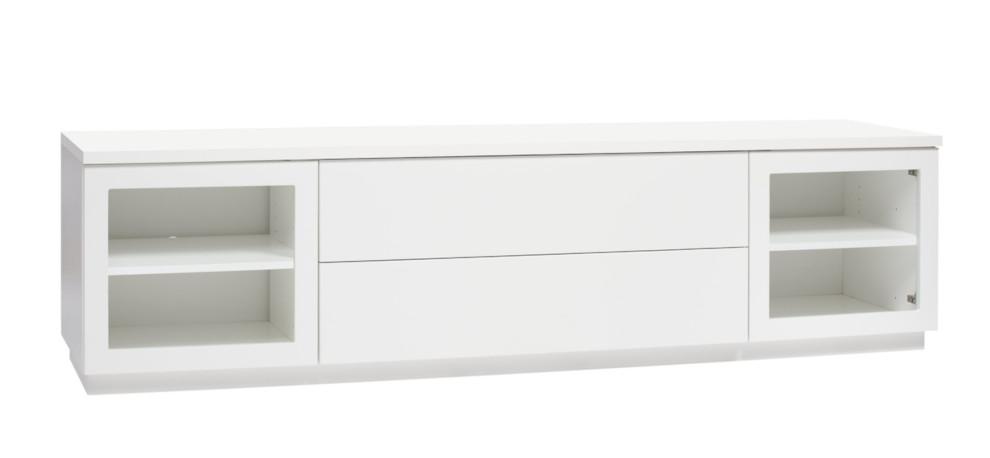 Anton A6.2 TV-taso 200 kirkas lasi, valkoinen