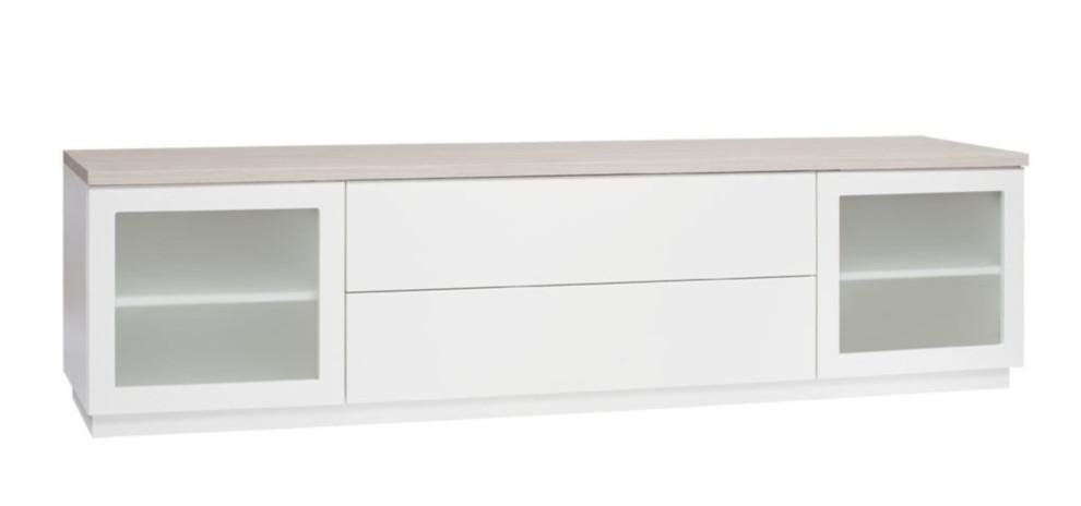Anton A6.3 TV-taso 200 maitolasi, valkoinen/saarni