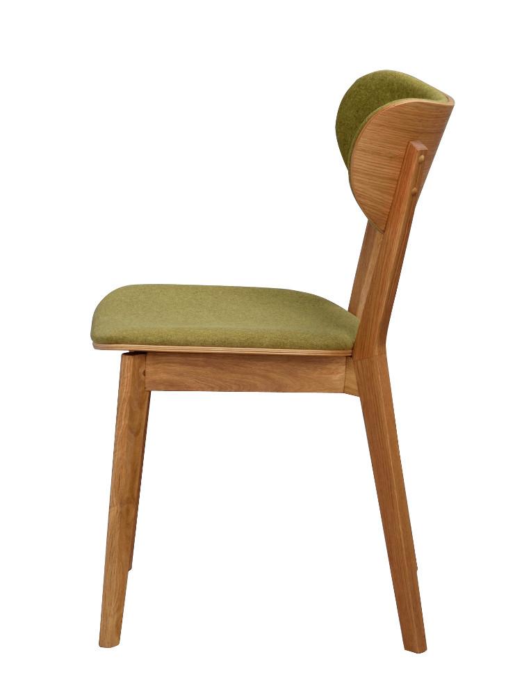 Cato tuoli lakattu tammi / vihreä, Rowico LOPPUERÄ