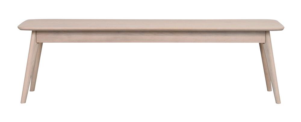 Yumi penkki 155 cm valkolakattu tammi, Rowico