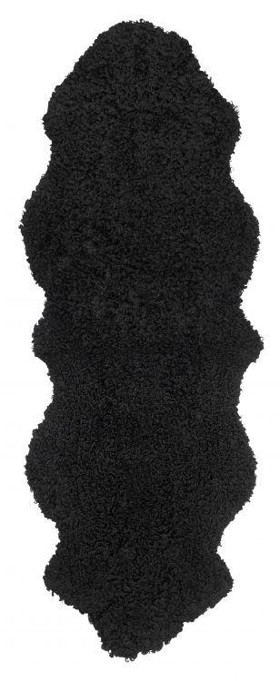 Curly 2-set lammastalja 180x60 musta