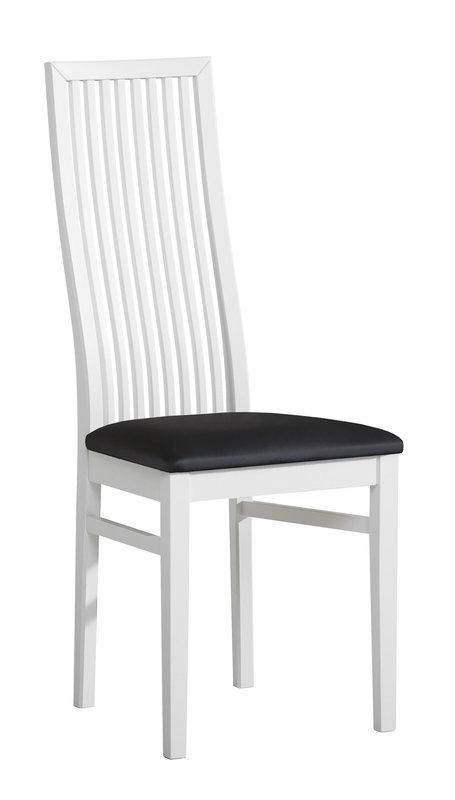 Julia tuoli valkoinen/musta Vienna