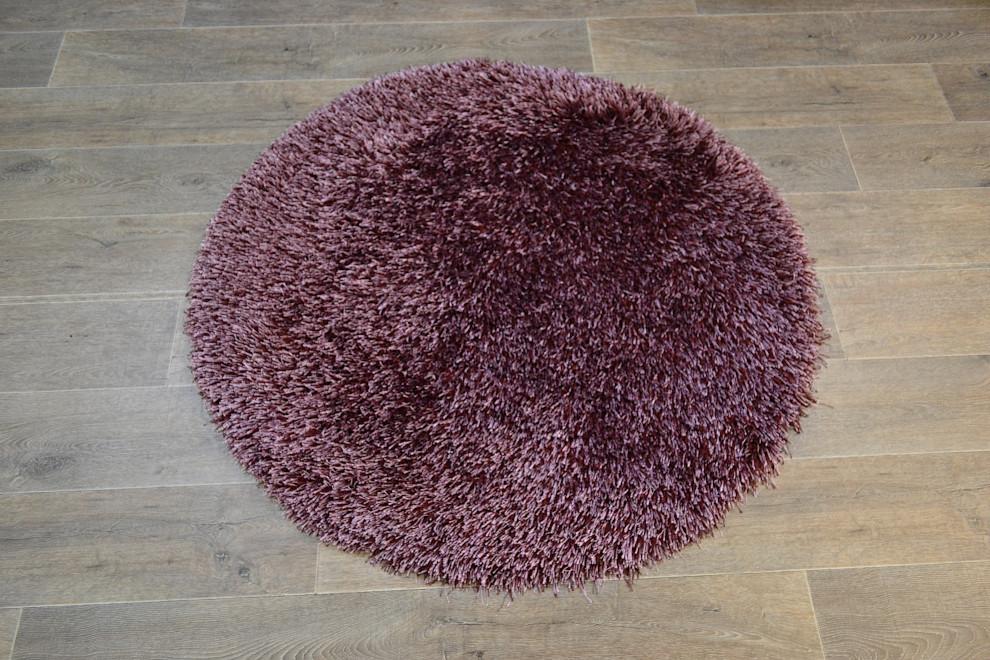 Love Shaggy matto pyöreä 120 cm lila