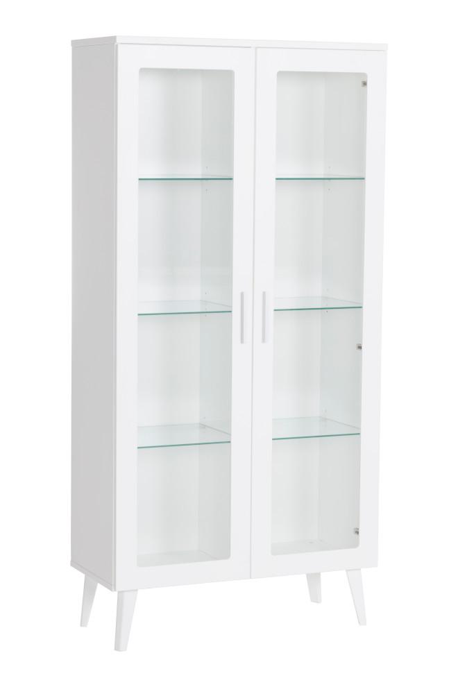 Kodikas vitriinikaappi valkoinen