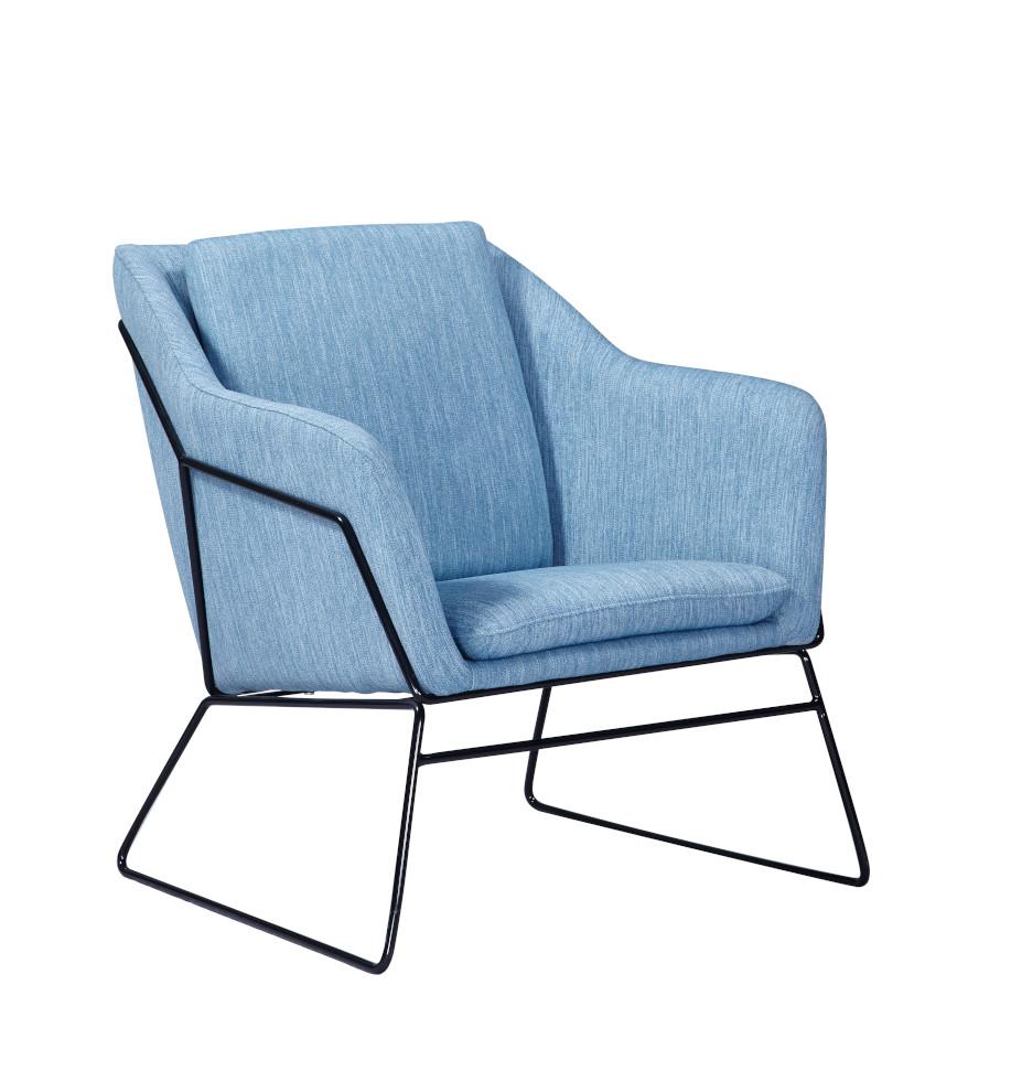 Monroe tuoli sininen