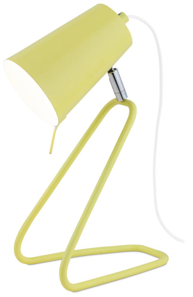 Juno pöytävalaisin keltainen