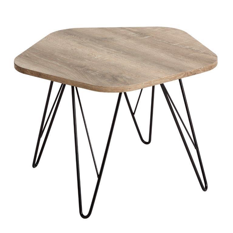 Wood5 sohvapöytä 60 x 60 cm, Tenstar