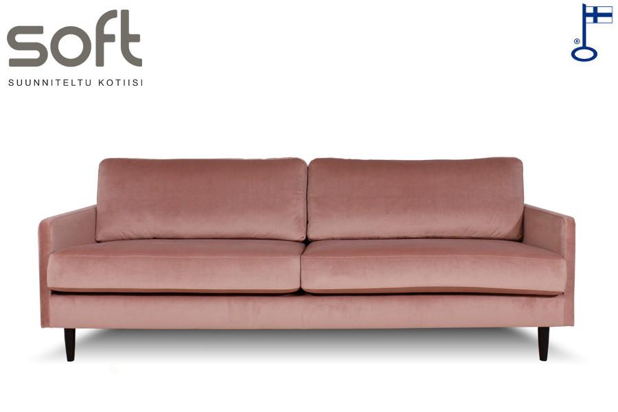 Alias 3,5-ist. sohva Luxor kankaalla