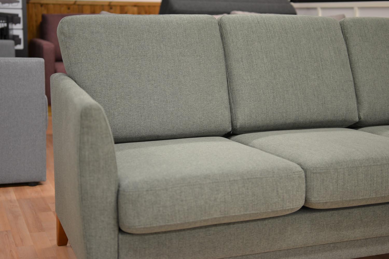 Costa 3-istuttava sohva Connect 70 kankaalla