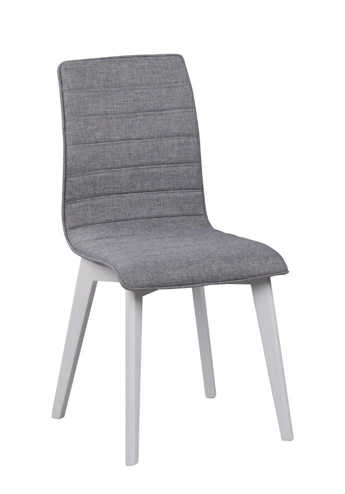 Grace tuoli vaaleaharmaa/valkoinen