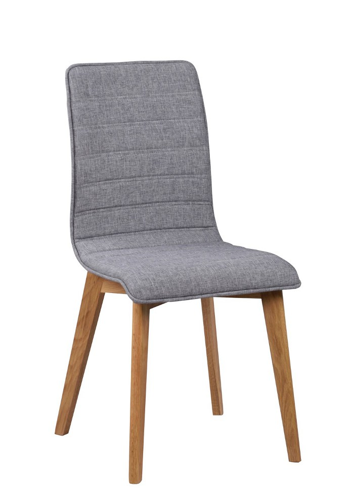 Grace tuoli vaaleaharmaa/tammi