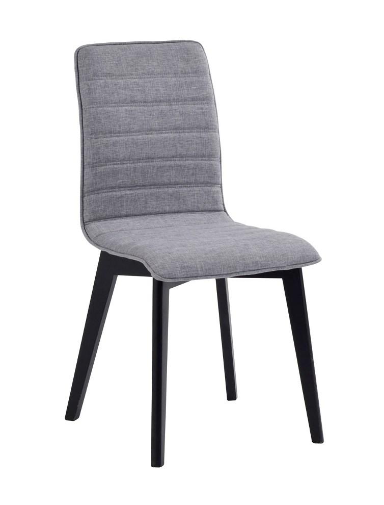 Grace tuoli vaaleaharmaa/musta