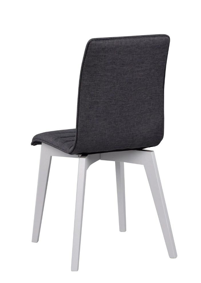 Grace tuoli tummanharmaa/valkoinen