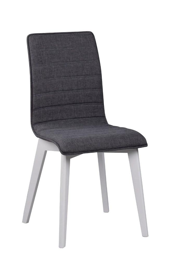 Gracy tuoli tummanharmaa/valkoinen, Rowico