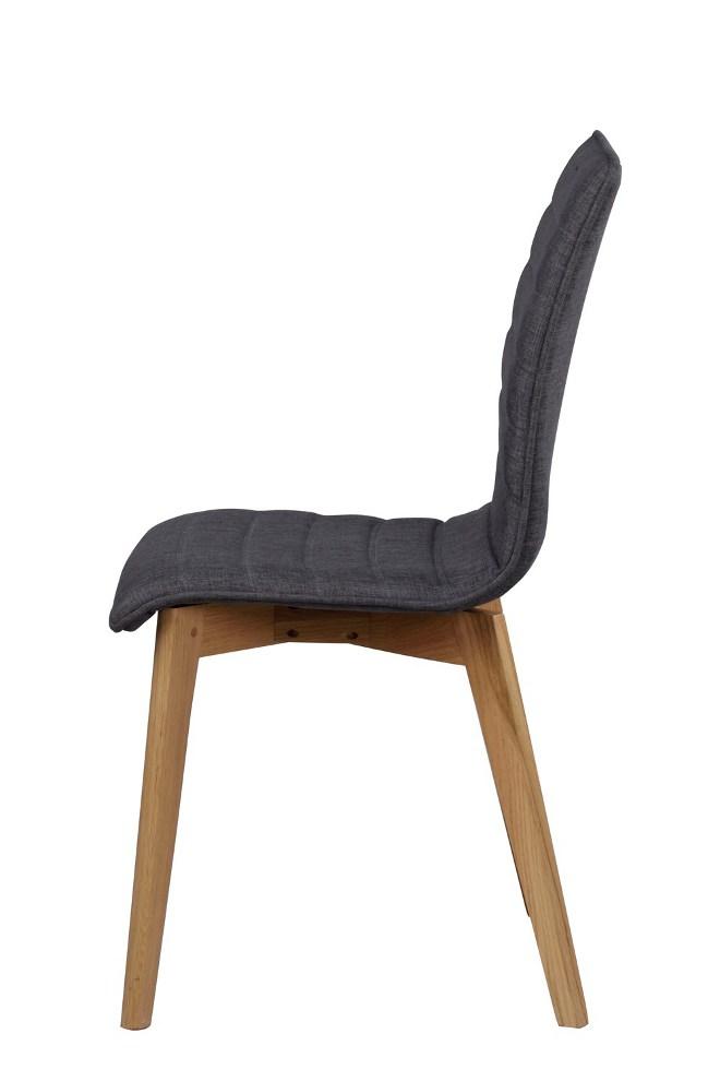 Grace tuoli tummanharmaa/tammi