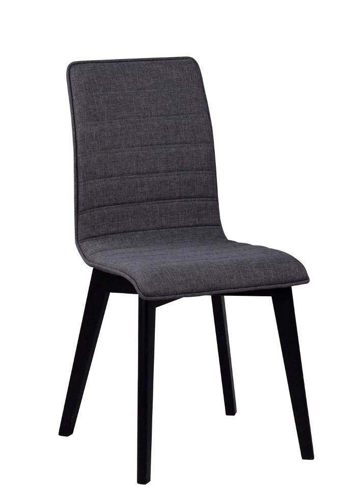 Gracy tuoli tummanharmaa/musta, Rowico