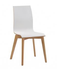 Gracy tuoli valkoinen/tammi, Rowico