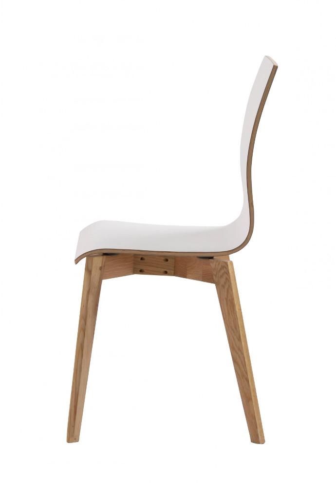 Grace tuoli valkoinen/tammi