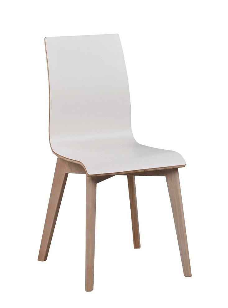 Gracy tuoli valkoinen/kuultovalkoinen tammi, Rowico