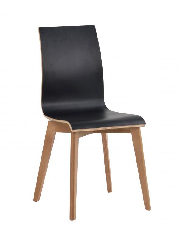 Grace tuoli musta/tammi