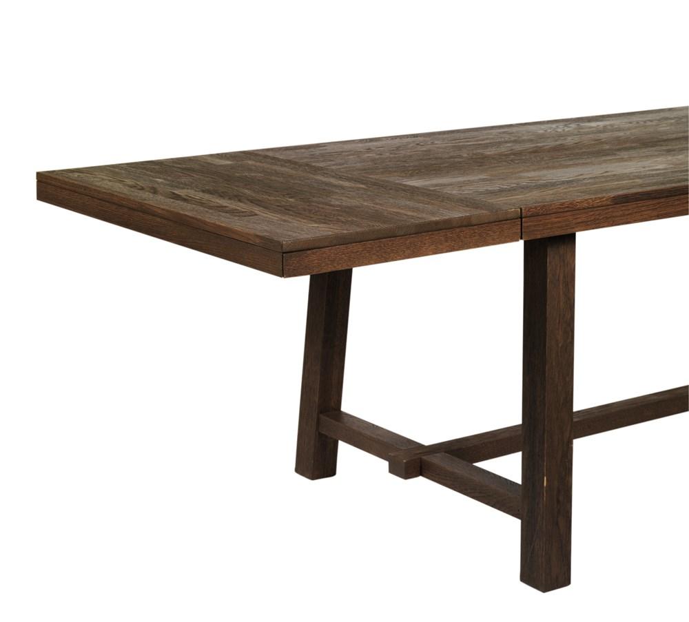 Brooklyn ruokapöydän jatkopala 50x95 ruskea tammi, Rowico