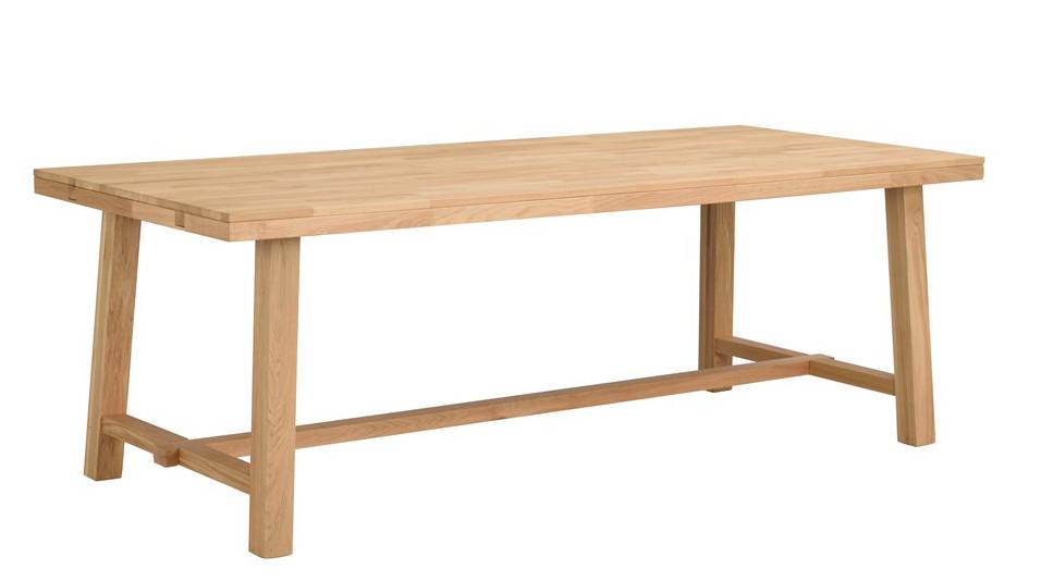 Brooklyn pöytä 220x95 lakattu tammi