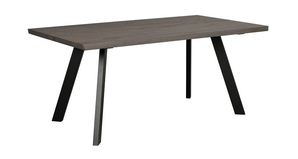 Fred pöytä 170 t.ruskea tammi / musta