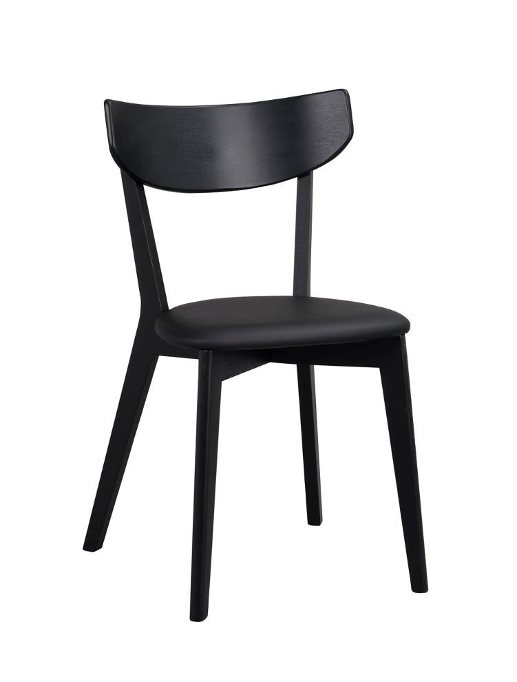 Ami tuoli mustapetsattu, istuin musta keinonahka