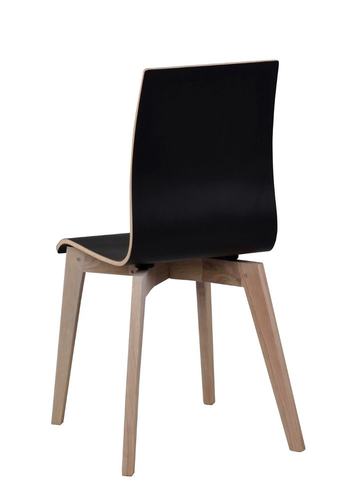 Grace tuoli musta/kuultovalkoinen tammi