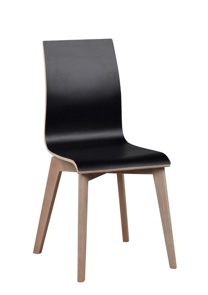 Gracy tuoli musta/kuultovalkoinen tammi, Rowico