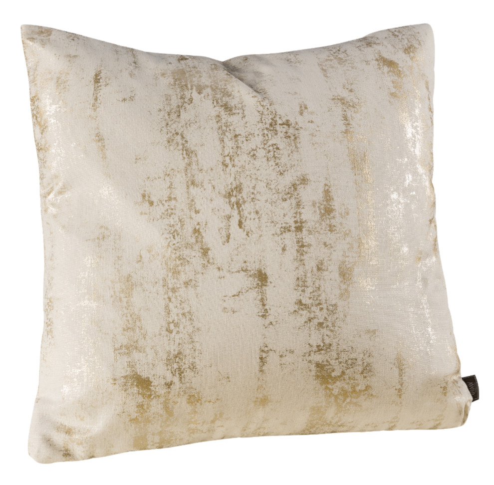 Koristetyynyn päällinen Moonlit Oyster plain 50x50