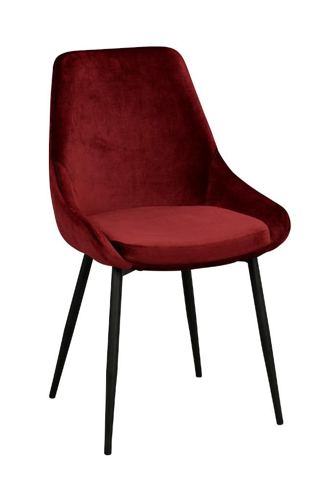 Sierra tuoli punainen / musta metalli