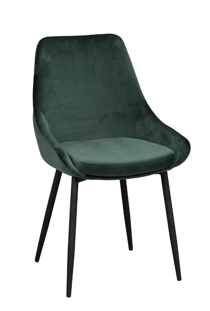 Sierra tuoli vihreä / musta metalli, Rowico