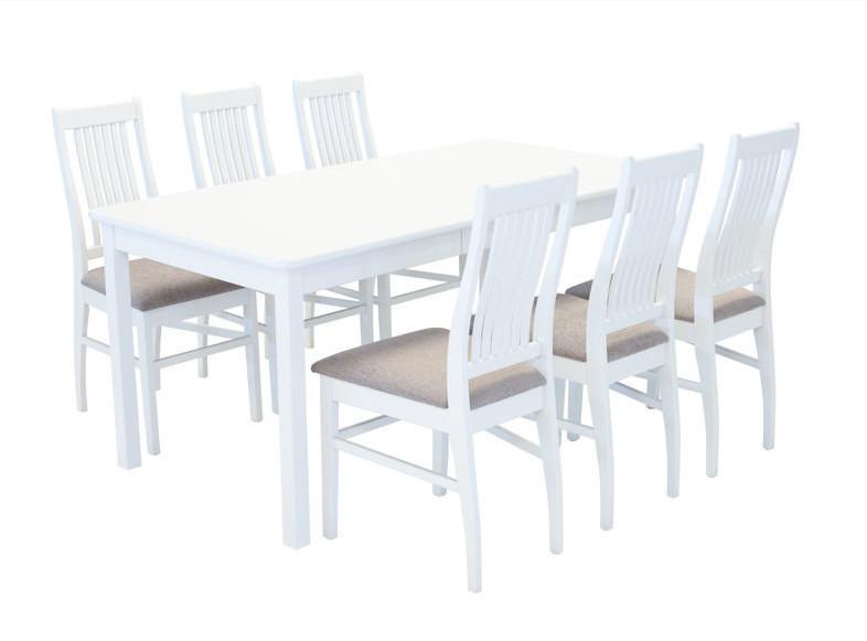 Sanna jatkettava ruokaryhmä valkoinen/Rubin 3