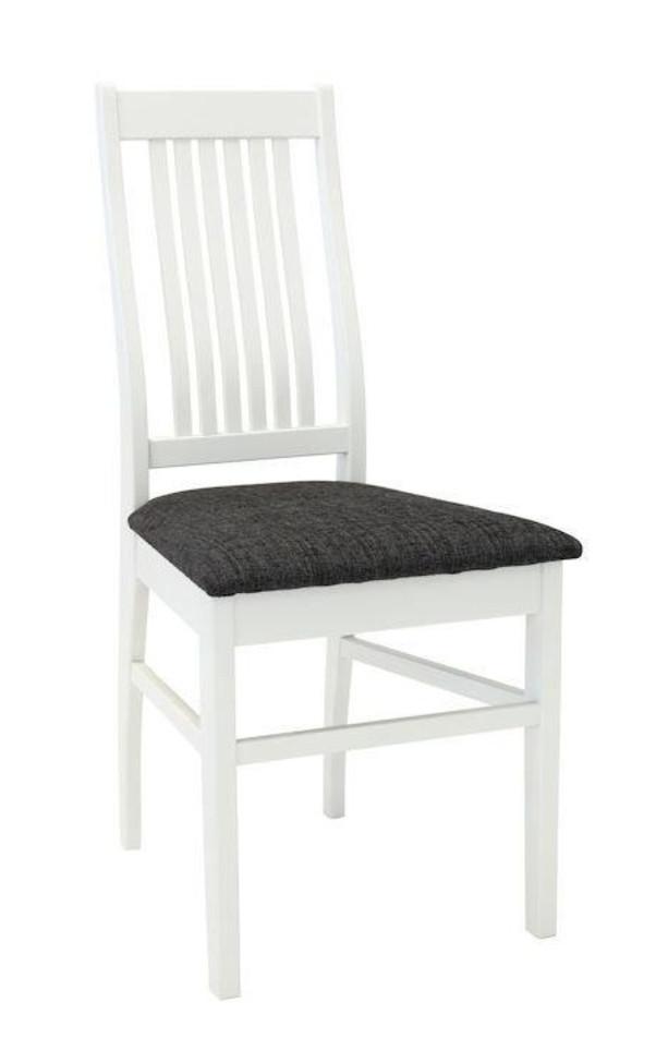 Sanna tuoli valkoinen/Rubin 10 tummanharmaa