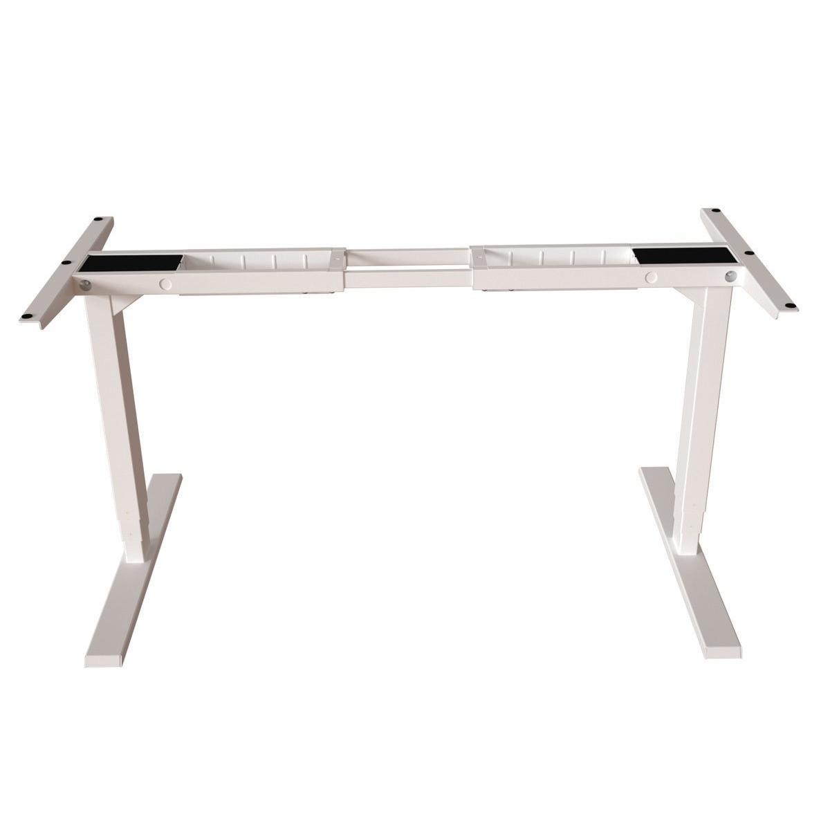 Ergo sähkösäätöpöydän jalat valkoinen