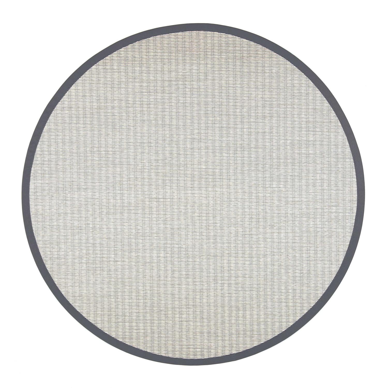 VM Carpet pyöreä Kelo matto, 7/81 V.harmaa-valkoinen