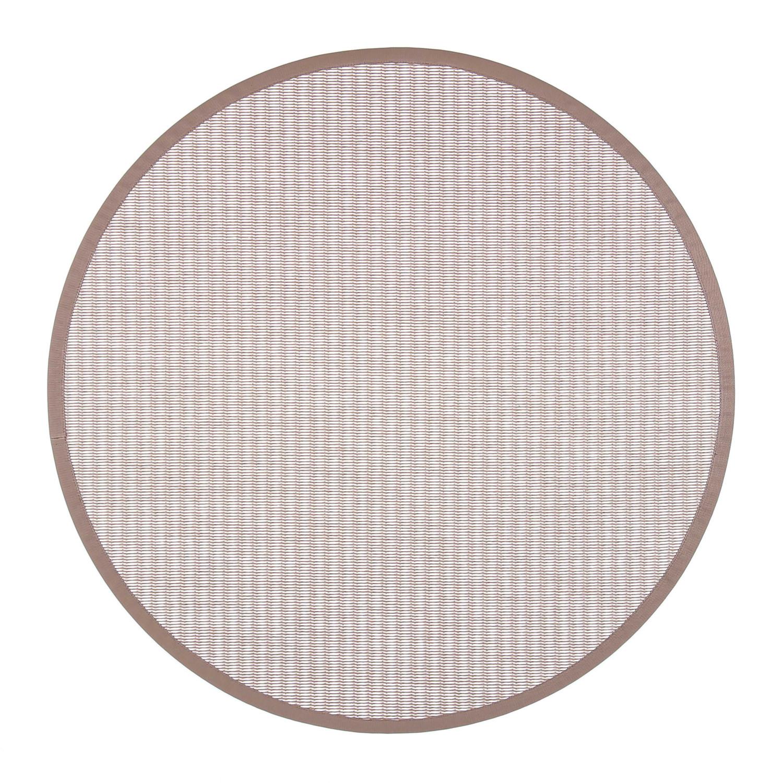 VM Carpet pyöreä Kelo matto, 72/81 Natur-valkoinen