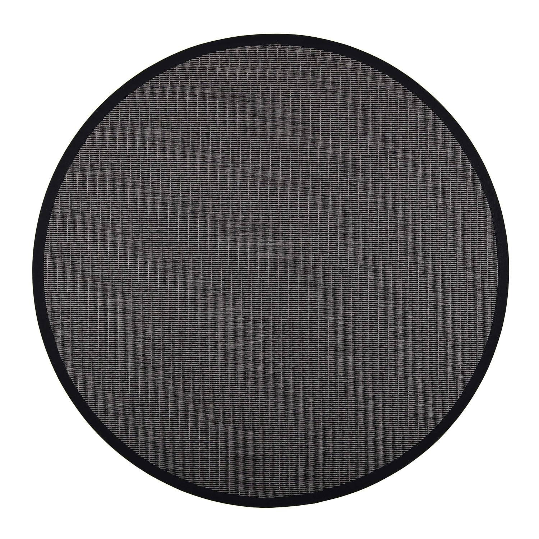 VM Carpet pyöreä Kelo matto, 79/17 Musta-t.harmaa
