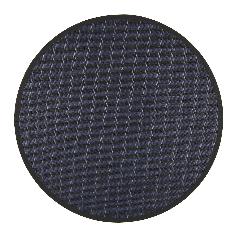 VM Carpet pyöreä Kelo matto, 79/78 Musta-sininen