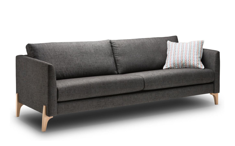 Nemo 222/2 sohva Nino tai Resto kankaalla, Shapes
