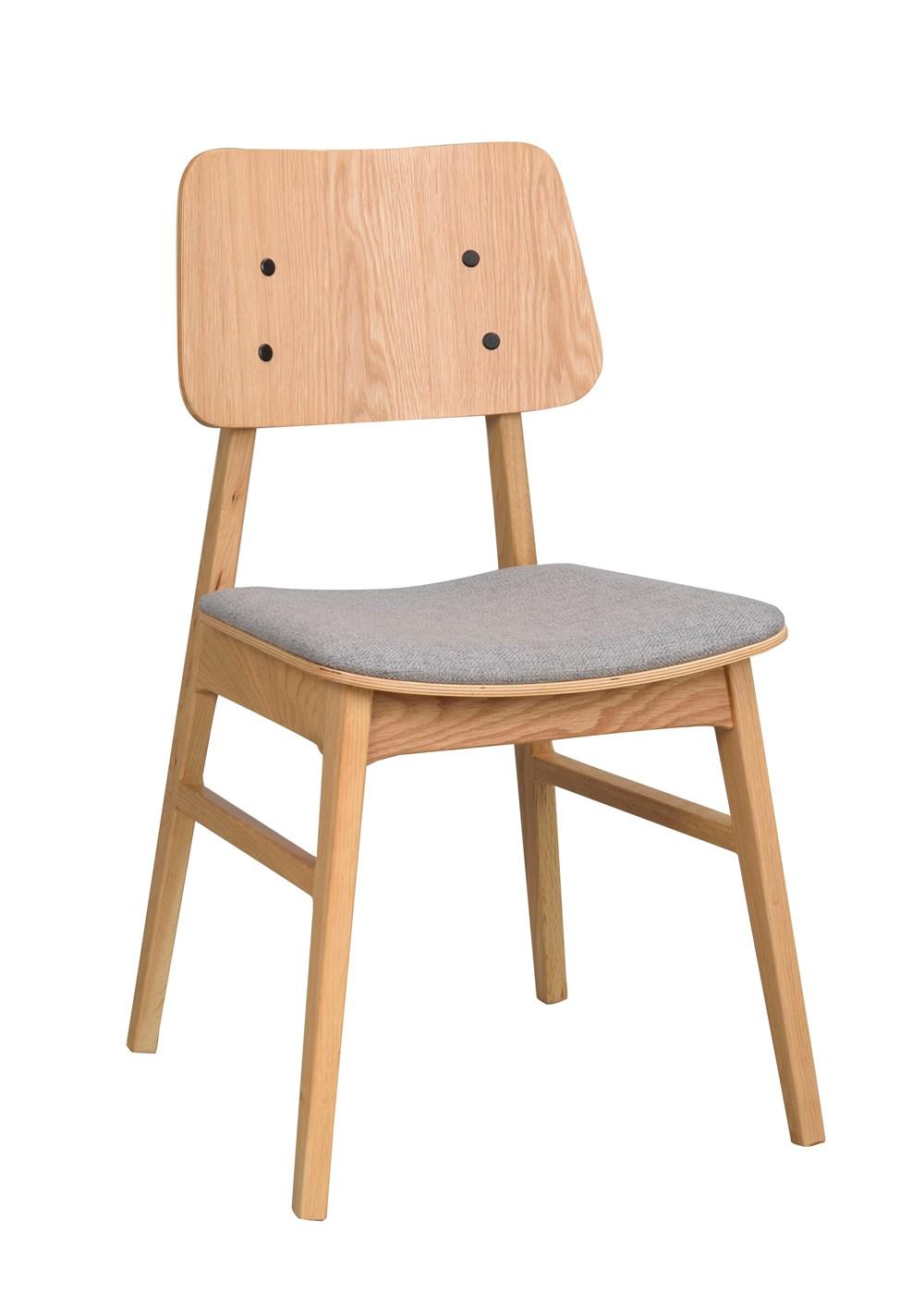 Nagano tuoli tammi/vaaleanharmaa, Rowico