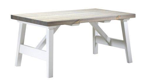 Rustiikki sohvapöytä 104 x 63 valkoinen/kelo