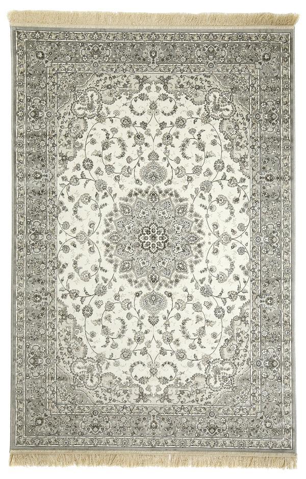 Mattokymppi Royal Palace matto harmaa/beige
