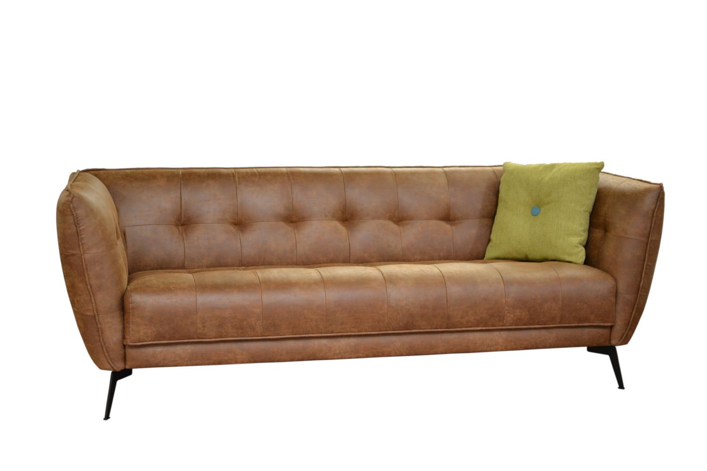 Eleanor 3-istuttava sohva, verhoilu Nevotex Rodeo